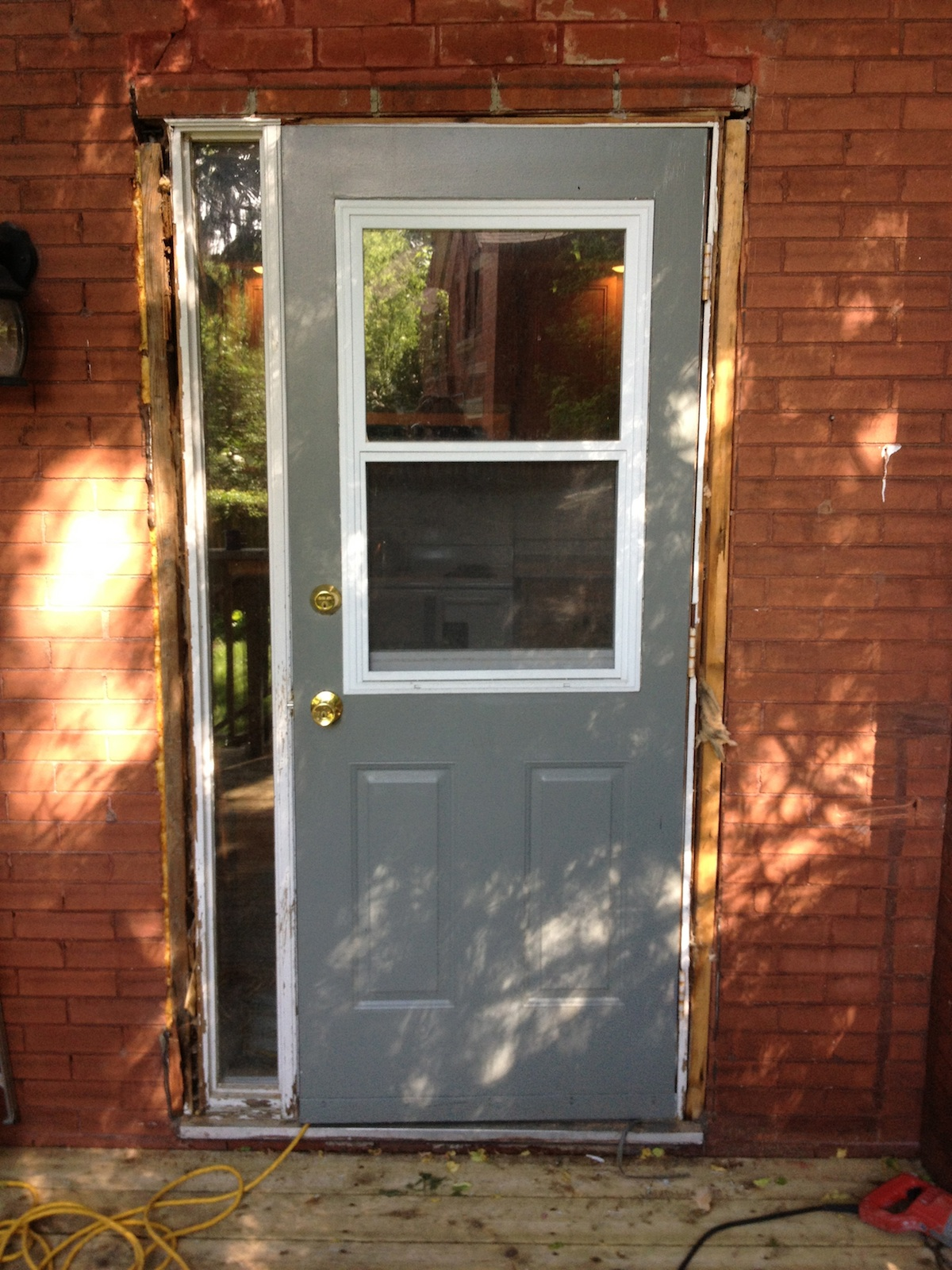 Gallery before after premium plus guelph for Back door with window that opens