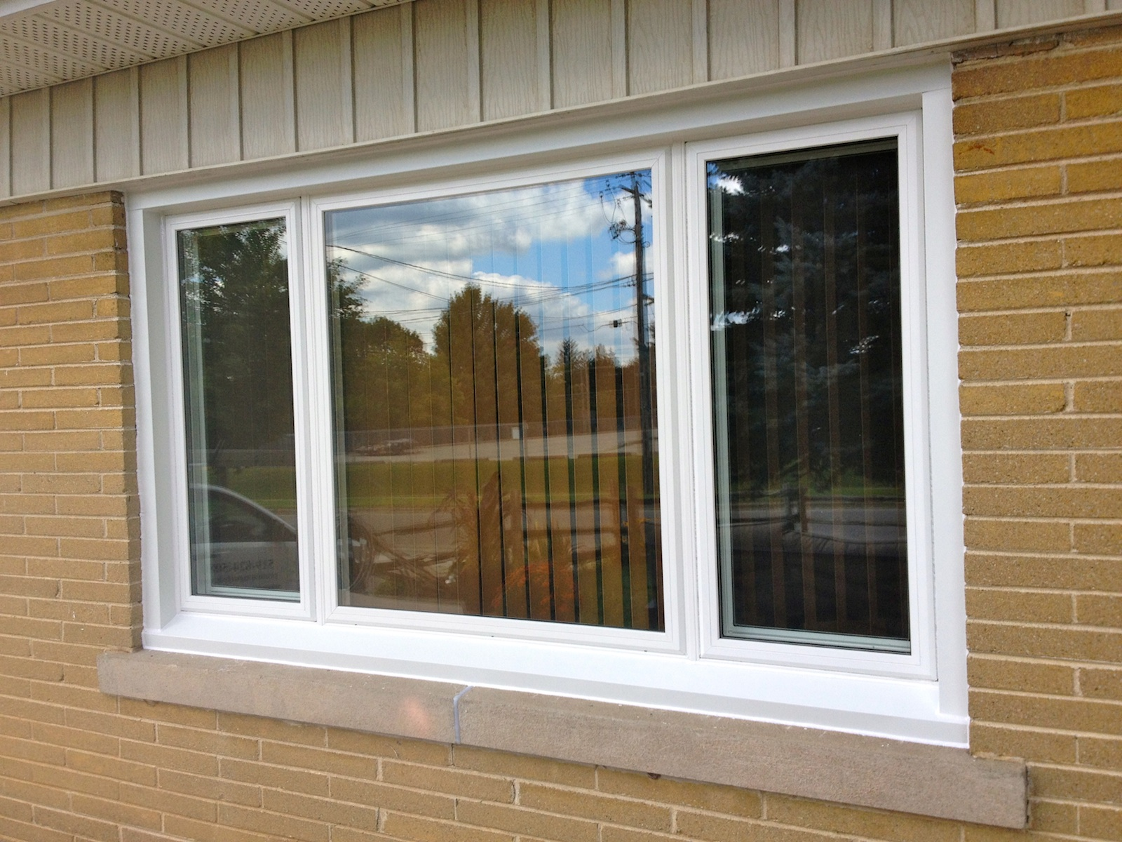 Gallery before after premium plus guelph for Glass windows